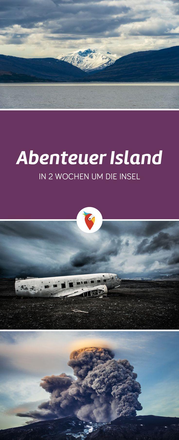 Weite, Wildnis, Wandern und viele Abenteuer kannst du auf deinem Trip nach Island erleben - alle Infos via Urlaubspiraten.de