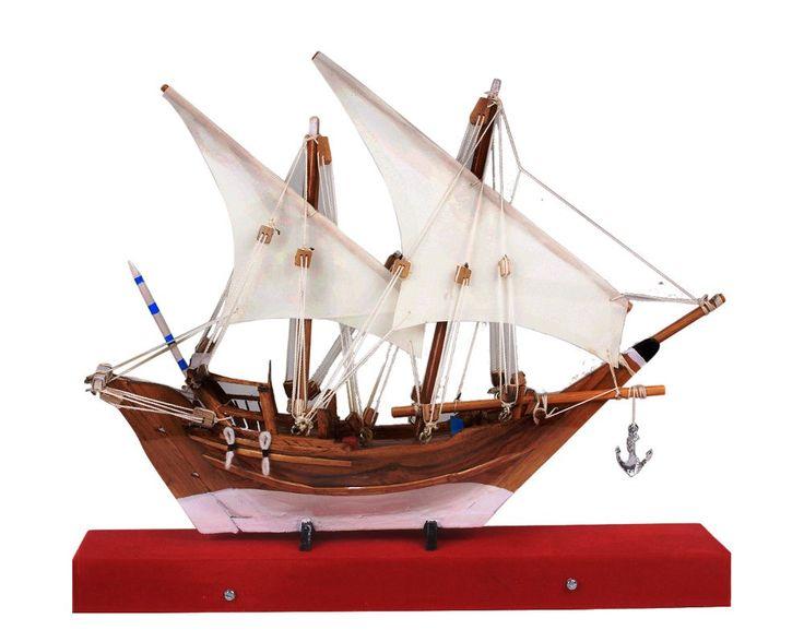 Uru - Arabian Trading Vessel Boat #Wooden #Miniature #showpiece #model