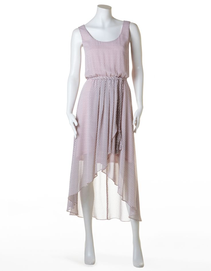 Blush High-Low Fit Flare Dress #CleoFashion www.cleo.ca