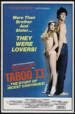 TABOO II Movie POSTER 11x17 Dorothy LeMay Kay Parker Honey Wilder Juliet