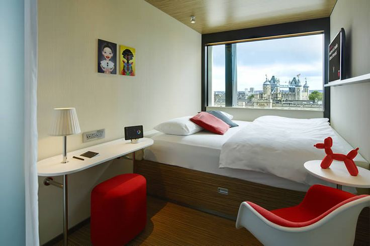 Off with their beds: there's nothing torturous about citizenM's arrival at the Tower of London...