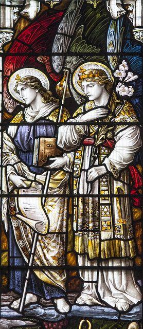 St Gabriel & St Raphael by Lawrence OP on Flickr.