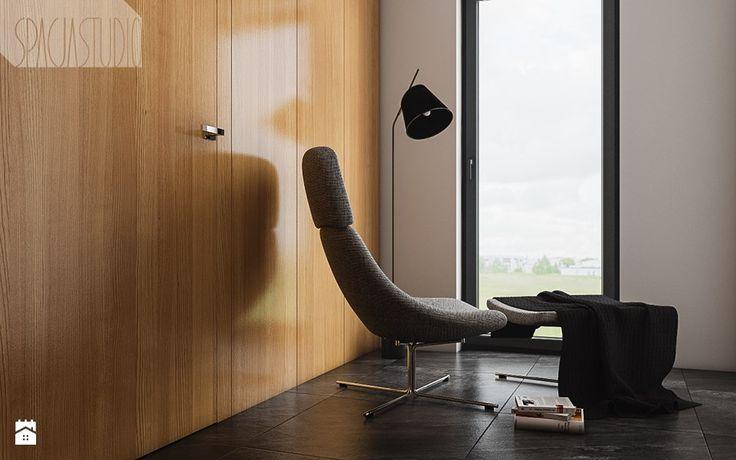 dom w Rybniku - zdjęcie od Spacja Studio - Hol / Przedpokój - Styl Minimalistyczny - Spacja Studio