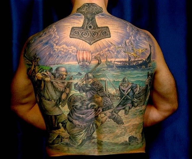 11 best viking tattoos images on pinterest viking tattoos tattoo ideas and tattoo designs. Black Bedroom Furniture Sets. Home Design Ideas