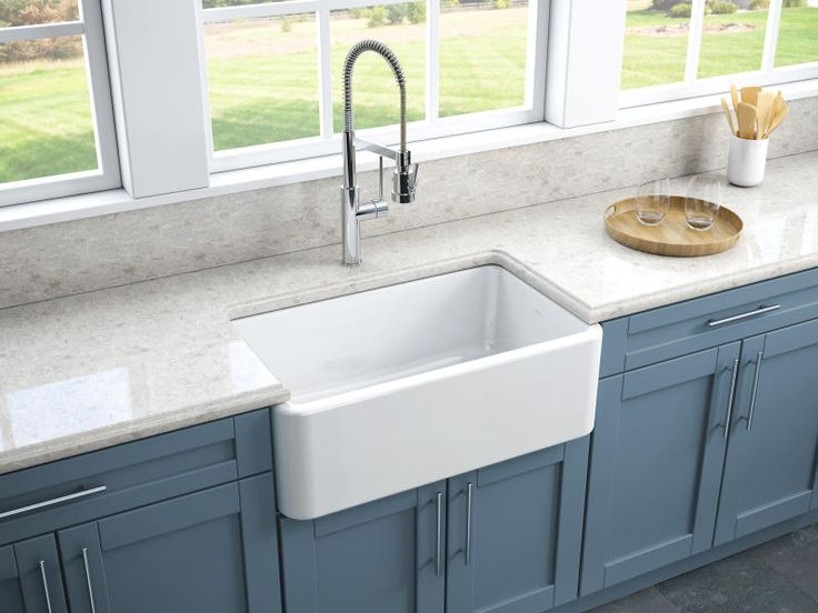 Find, Shop for and Buy Latoscana LFS3018W Reversible Fireclay Farmhouse Sink at QualityBath.com for $589.00 with free shipping!