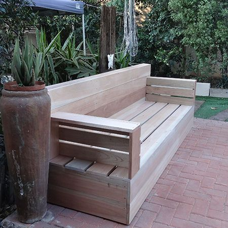 Make Your Own Wood Patio Furniture