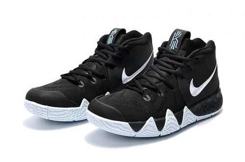 948630b44b5a Discount Kyrie 4 Nike Black White-Anthracite-Light Racer Blue 943806 ...
