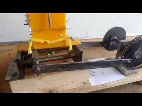 Can Crusher Mechanism - Dual Crushing - Auto Feeding