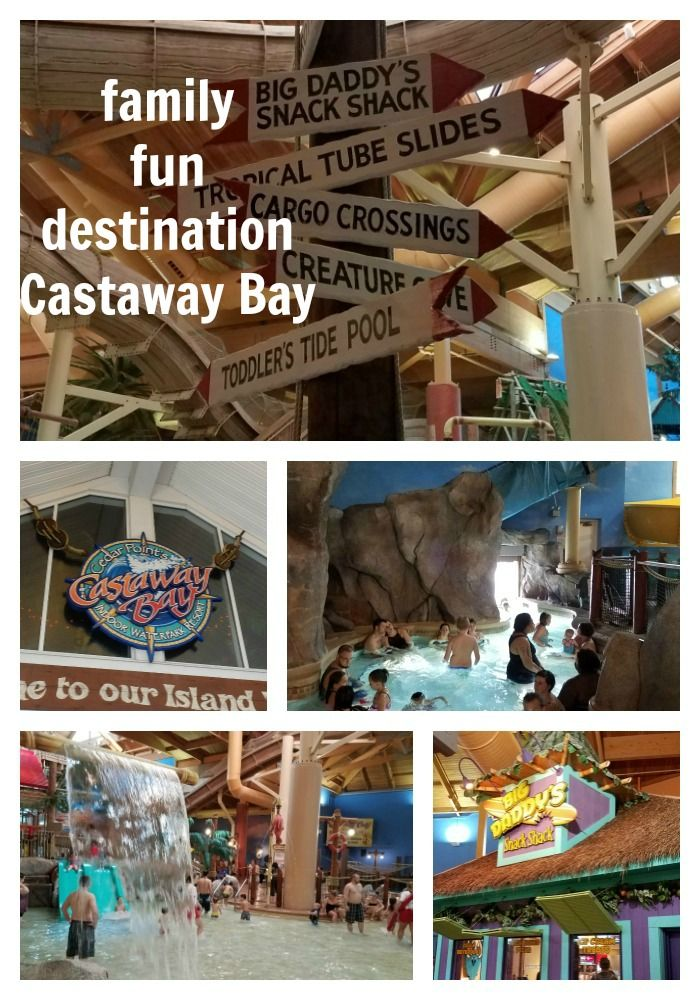 Located in Sandusky Ohio, Castaway Bay indoor Water park is the perfect family fun vacation destination you need to check out. - justmeregina.com