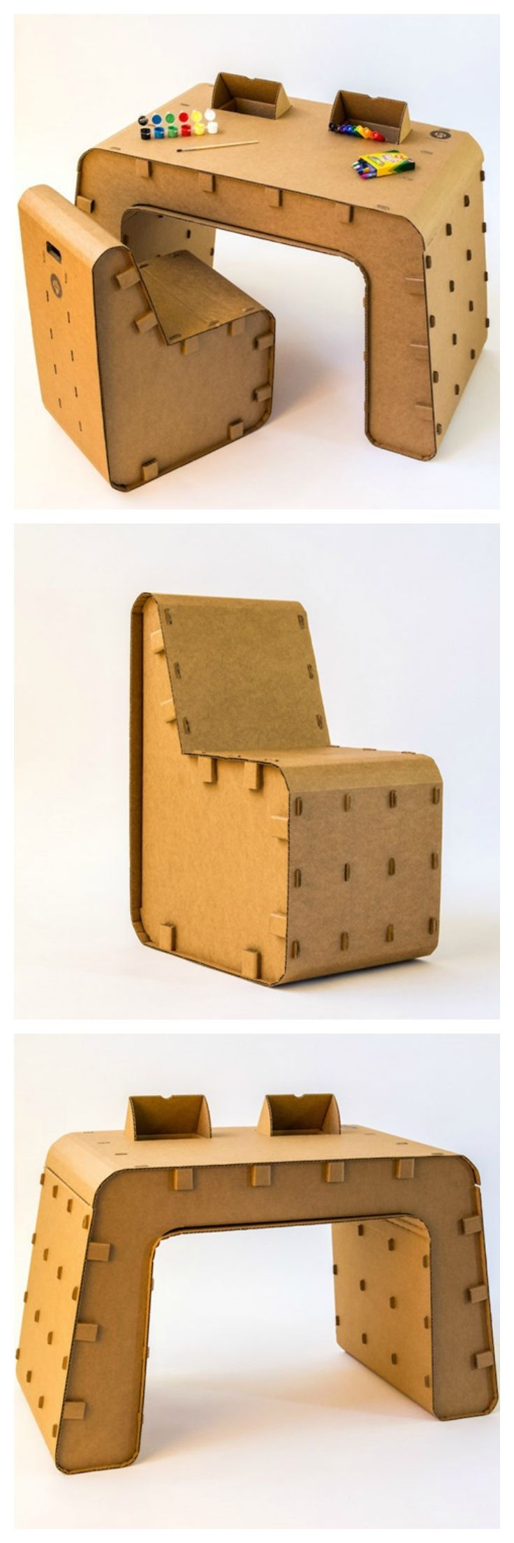 Cardboard Furniture For Kids: The Carboard Guys