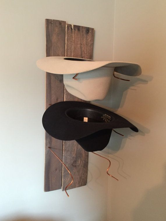 Best 25 cowboy hat rack ideas on pinterest cowboy hat crafts hat racks and mens cowboy hats - Creative hat storage ideas ...
