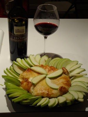 Baked Brie -- recipe for when my book club comes!