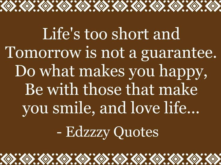 Short Inspirational Quotes About Life Quotes About Life