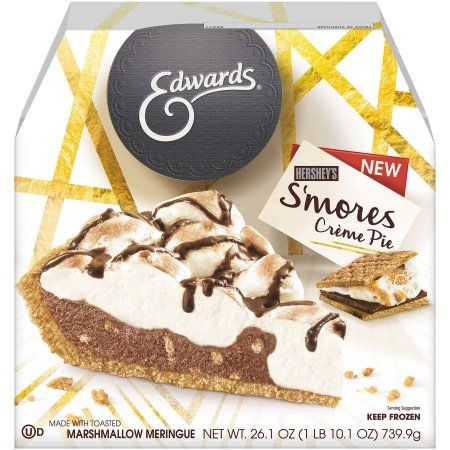Edwards® Hershey's® S'Mores Crème Pie available at Walmart! #OwnTheOccasion #GotItFree @edwardsdesserts