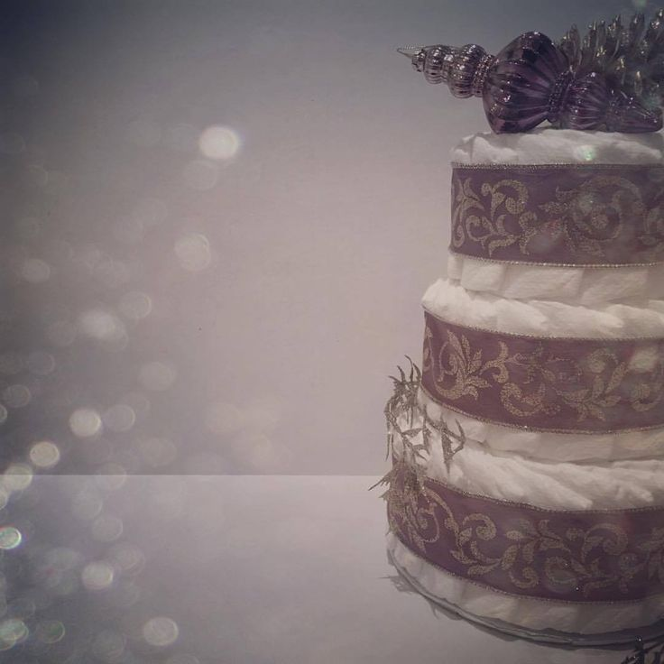 Holiday Mini Purple and Gold, from @babydcakescanada