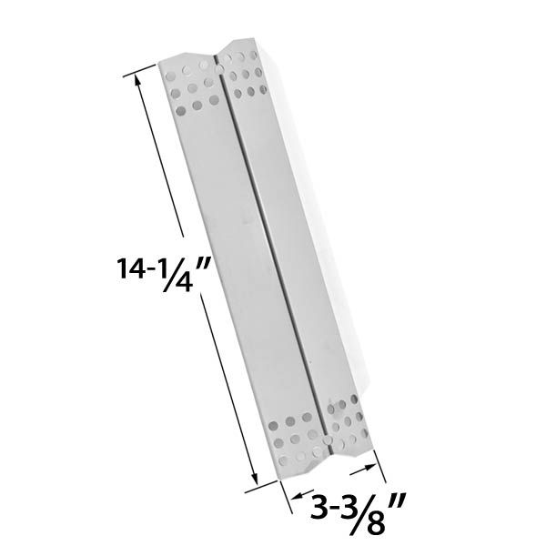 REPLACEMENT STAINLESS STEEL HEAT PLATE FOR DURO 780-0390, GRILL MASTER 720-0737, NEXGRILL 720-0697, UBERHAUS, TERA GEAR GAS GRILL MODELS Fits Compatible Duro Models : 780-0390 Read More @http://www.grillpartszone.com/shopexd.asp?id=33587&sid=34282