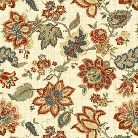 Jacobean Floral Fabric Dunelm Floral Fabric Floral