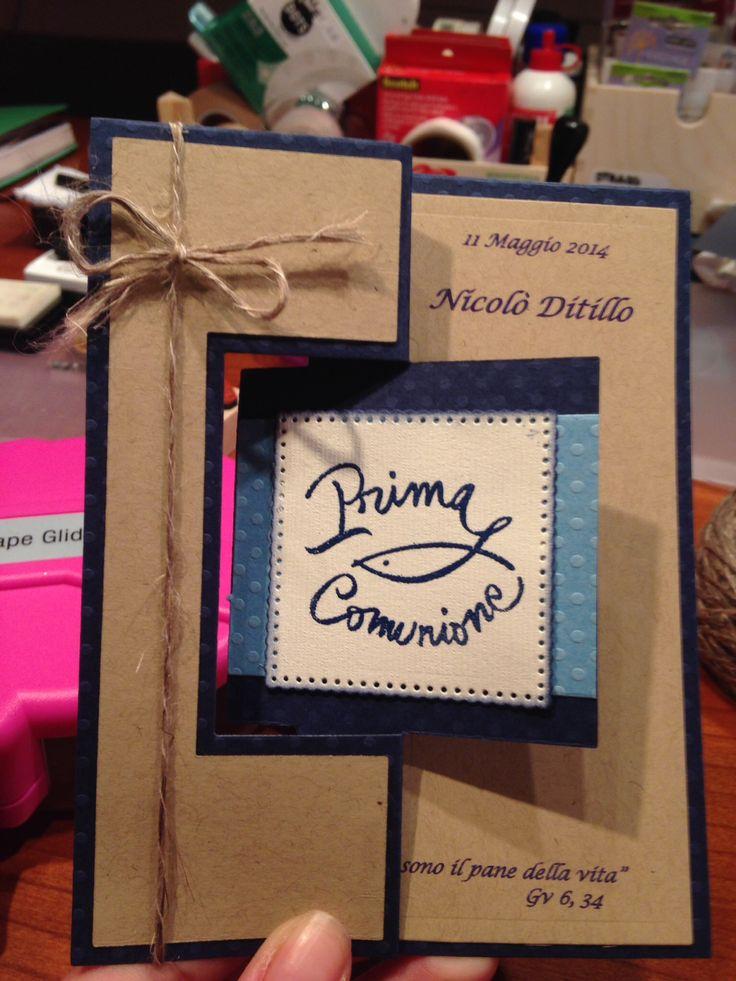 Card Prima Comunione