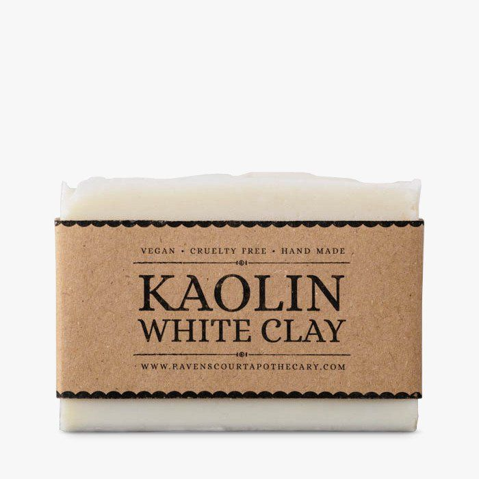 Handmade vegan soap with white clay #soap #vegan #natural #ravenscourt