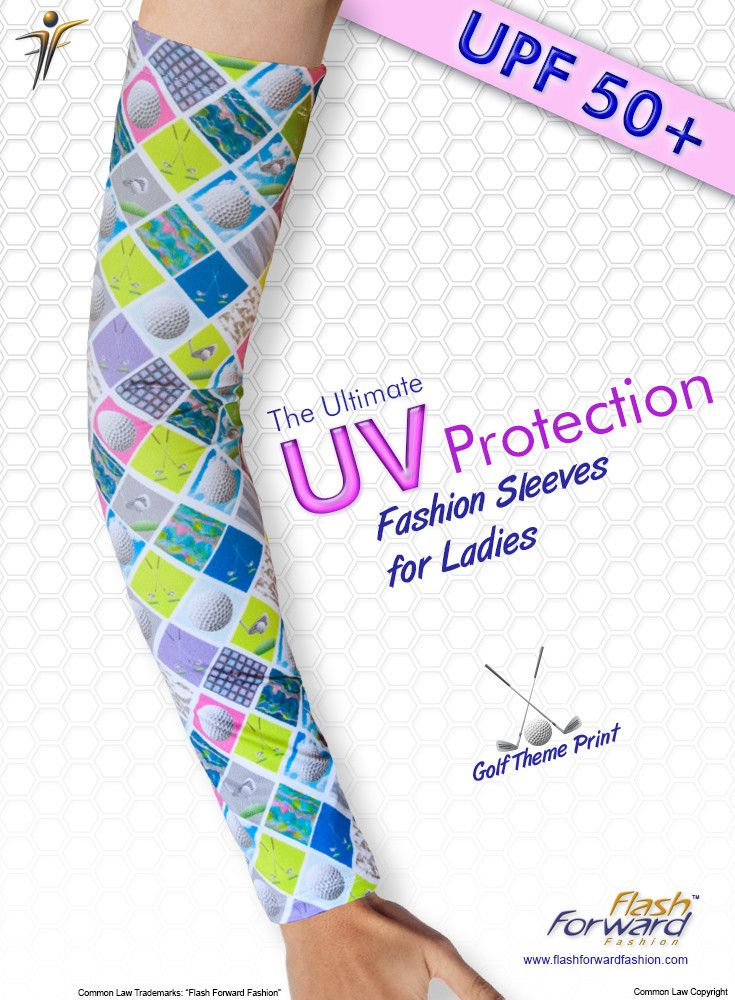 Wear UV protection sleeves for health and comfort keeping your skin cool and protected from the sun's harmful UV rays.