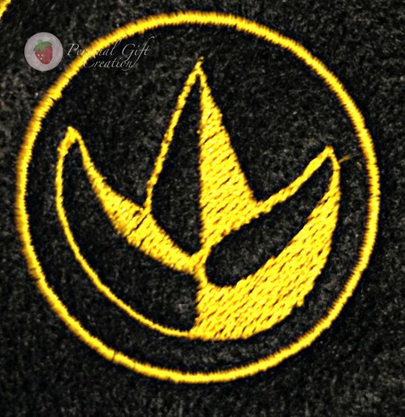 Power Rangers Sew on Patch Embroidered Green Ranger Costume by Personal Gift Creation