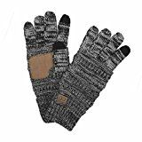 #10: Funky Junques C.C Beanies Matching Winter Warm Knit Touchscreen Texting Gloves #FabOffers #Fashion #FabBestSellers