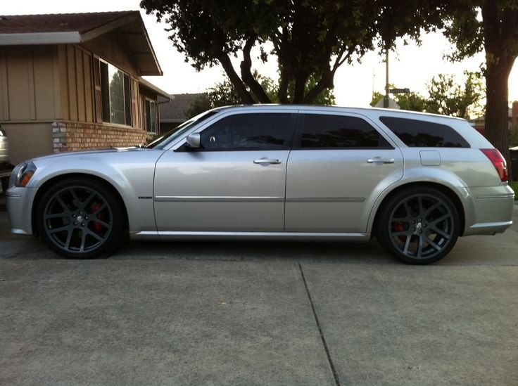 "2006 Dodge Magnum SRT8 with 22"" comp gray Viper wheels. This is my car. Should I get these wheels?"