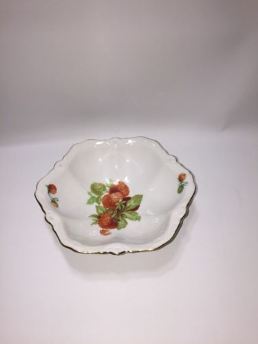 Vintage Fine Bone China Czechoslovakia bowl/phallmarked WCP Plate in Pottery, Porcelain & Glass, Porcelain/China, Other Porcelain/China | eBay