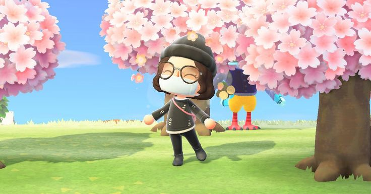 Animal Crossing New Horizons Cherry Blossom Farmers Are Making Bank Polygon Cherry Blossom Season Animal Crossing Cherry Blossom