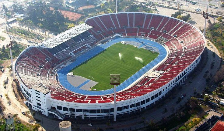 Estadio Nacional Julio Martínez Prádanos, Chile