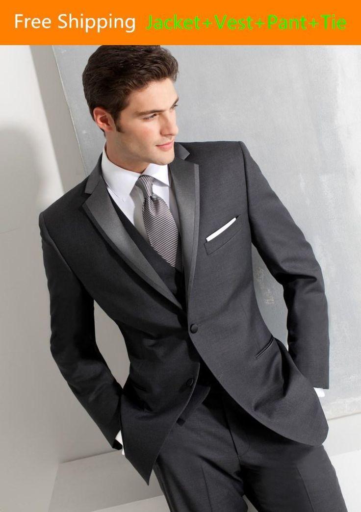 Best 25  All black tuxedo ideas on Pinterest | Black tuxedo shirt ...