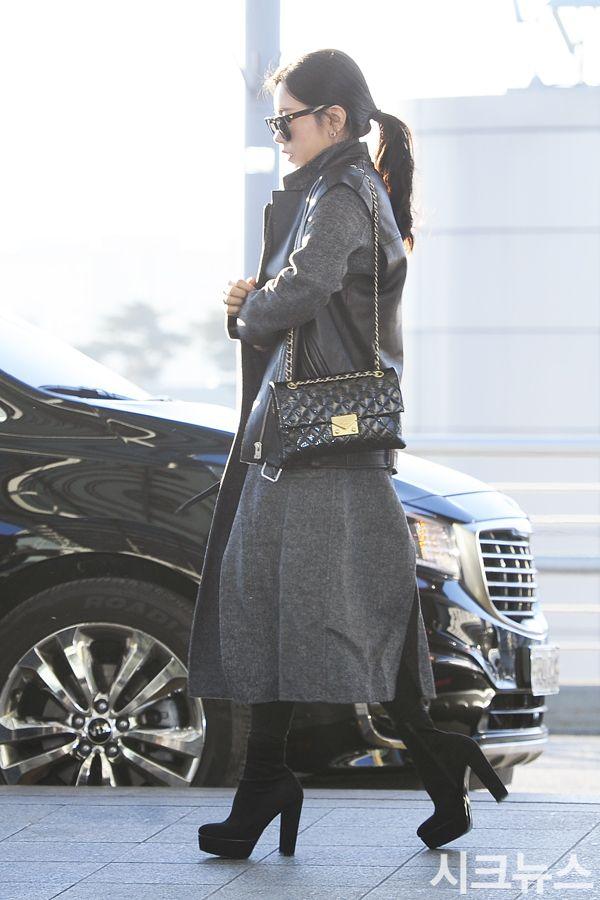 티아라 소연, '공항 밝히는 미모'