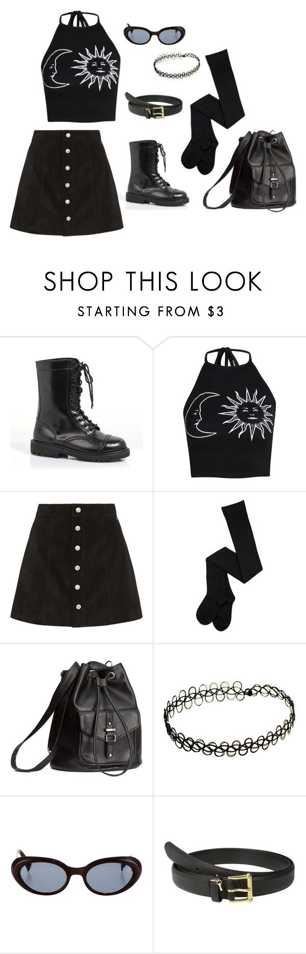 """""""Sabrina Spellman"""" by lulu-g ❤ liked on Polyvore featuring Boohoo, AG Adriano Goldschmied, H&M, Kenzo, Lauren Ralph Lauren, outfit, kenzo, 90 and boohoo"""