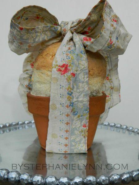 Flowerpot bread! What a good gift idea!