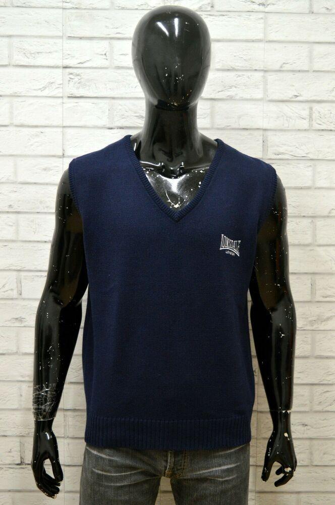 the latest dac5e 9b23f Maglione LONSDALE Uomo Taglia XXL Pullover Cardigan Sweater ...