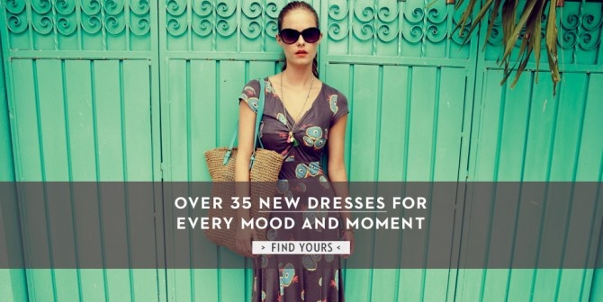 Boden Offers over 35 New Dresses for Every Mood and Moment this Summer.