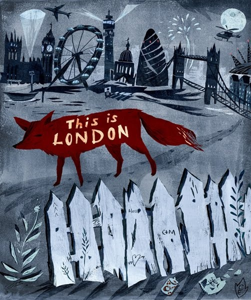 this is london #illustration