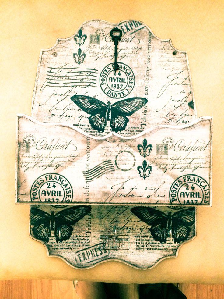 Porta cartas. estilo Vintage