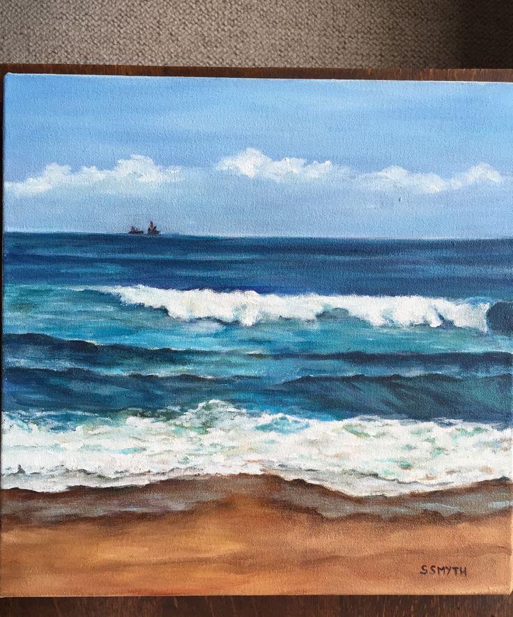 North Coast KZN - Sue Smyth. 40x40cm