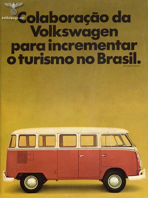 1960's vw kombi- brasil