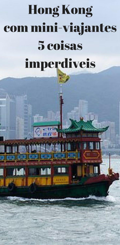 Muitas famílias têm a ideia que Hong Kong é uma cidade gigante, acelerada, confusa e sem grande interesse histórico. E quando pensam em férias em cidades, não consideram Hong Kong nas suas primeiras escolhas. Achamos que é só por falta de incentivo, então, escolhemos 5 coisas imperdíveis para conhecer em Hong Kong com os mini-turistas.
