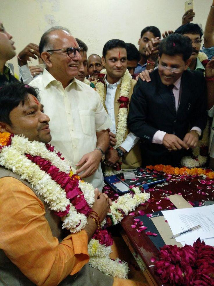 राजस्थान युवा बोर्ड के अध्यक्ष पद पर मनोनीत किए गये भूपेन्द्र सैनी एवं सदस्यों को पदभार ग्रहण करवाया  