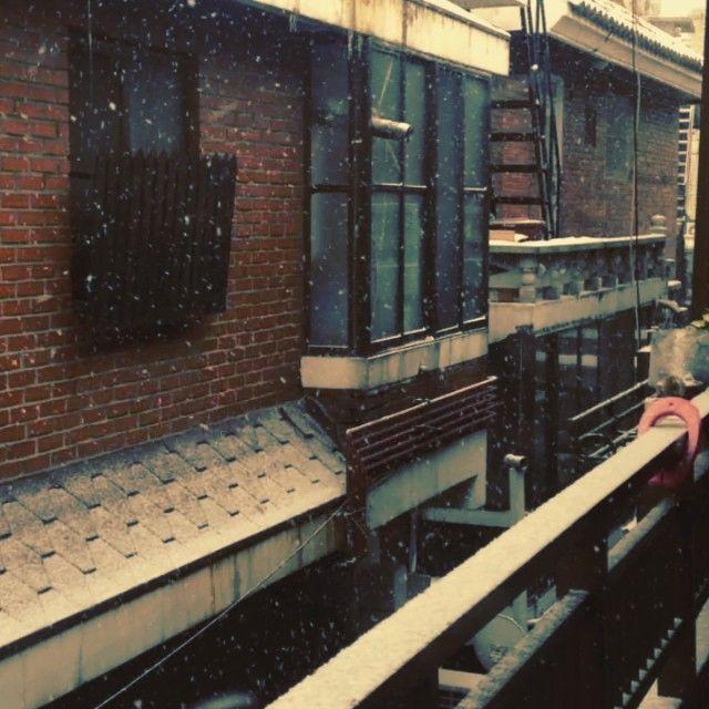 mm_ji /  #눈 / #골목 #동네 #집 / 2013 12 19 /