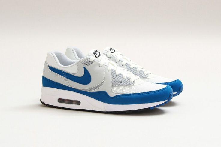 "Nike Air Max Light Essential ""Summit White/Military Blue"" Sneakers"