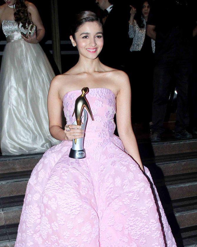 Alia Bhatt at the Filmfare Glamour & Style Awards.