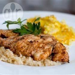 Sobrecoxas de frango tandoori @ allrecipes.com.br