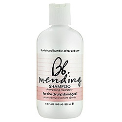 Bumble and Bumble mending shampoo and mending masque are awesome for us girls that highlight our hair often.