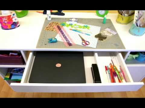 Crea Scrapbooking Table, by South Shore
