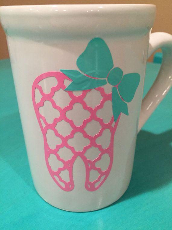 Dental hygienist coffee mug dental assistant by ArtisticallySo