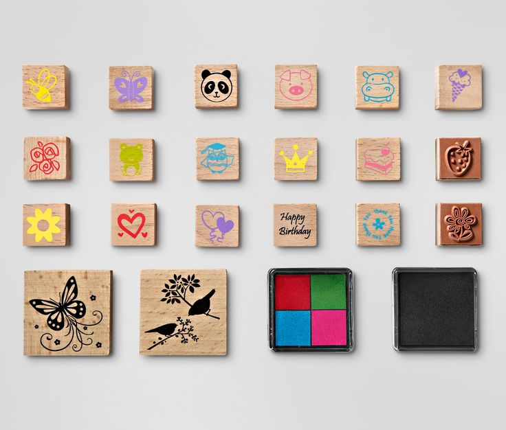 Stempel-Set online bestellen bei Tchibo 301799
